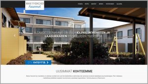 Betoco Asunnot Oy nettisivut
