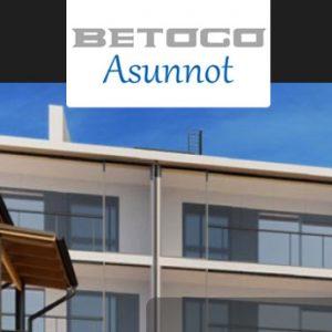Betoco Asunnot logo ja verkkosivut