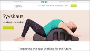 Somatic Studio verkkosivujen uudistus
