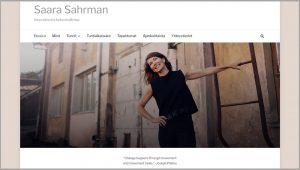 Saara Sahrman www-sivut