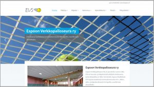 EVS wordpress sivut