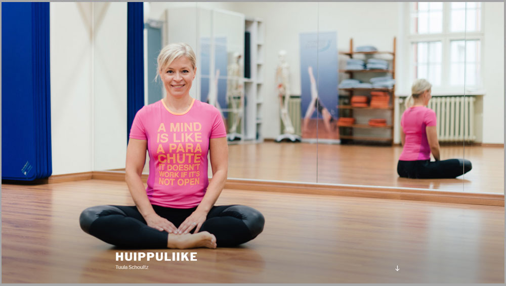 Huippuliike.fi www-sivusto
