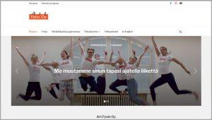 ArtFysio verkkosivujen uudistus